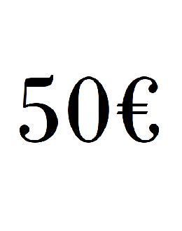 DARČEKOVÁ POUKÁŽKA 50€